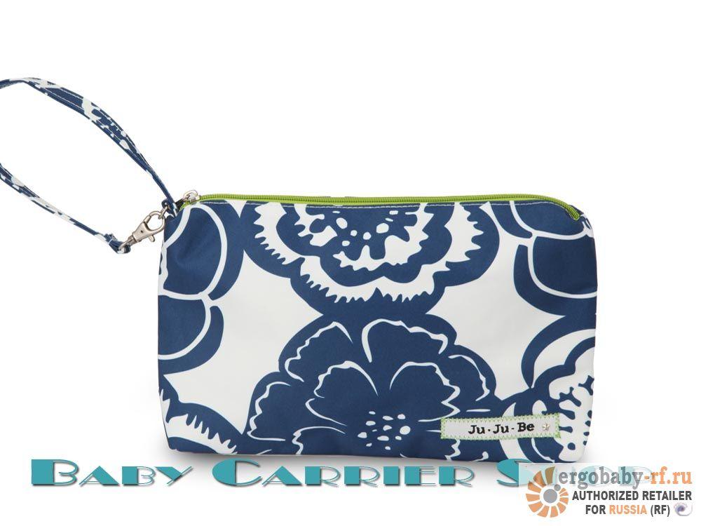 Сумочка-косметичка JU-JU-BE «Be Quick Cobalt Blossoms» Portables Collection JuJuBe [ЖуЖуБи Би Квик]