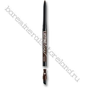 Lasting Line Long-Wearing Eyeliner Lasting Brown - коричневый