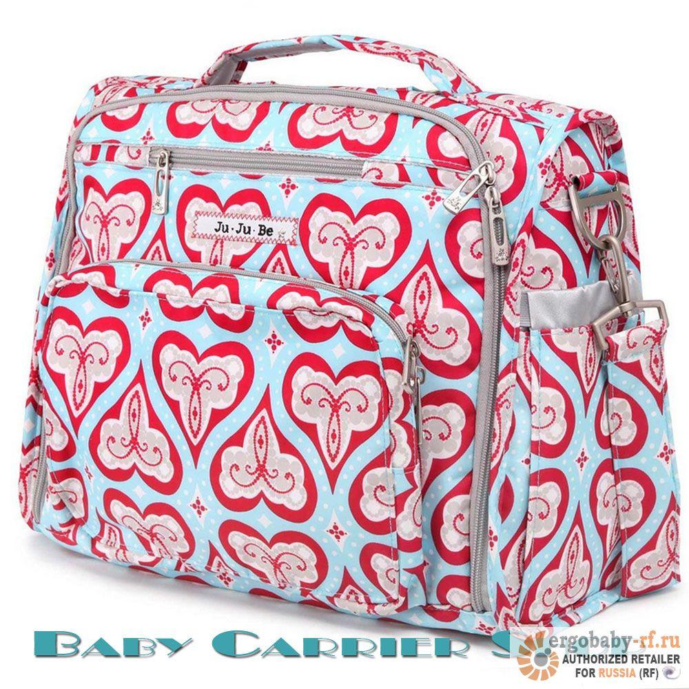 Сумка-рюкзак для мамы на коляску JU-JU-BE «BFF Sweet Hearts» Classic Collection JuJuBe [ЖуЖуБи БФФ]