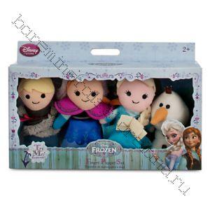 Набор мягких игрушек Холодное  Сердце