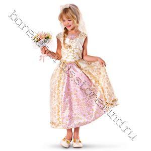 Платье Рапунцель Дисней свадебное 120 рост