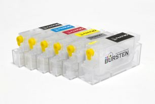 Перезаправляемые картриджи Bursten Nano-2 для Canon MG6140, MG6240, MG8140, MG8240 (PGI-425, CLI-426) x6 с авто-чипом