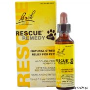 Bach Rescue Remedy Pet 20 мл.  - специальная формула для животных, на глицирене и воде, не содержат спирт
