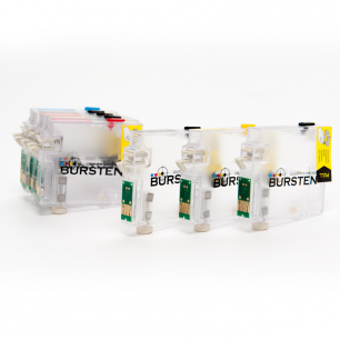 Перезаправляемые картриджи Bursten Nano 2 для Epson  Stylus Photo R2000 (T1590 - T1599) x 8 шт.