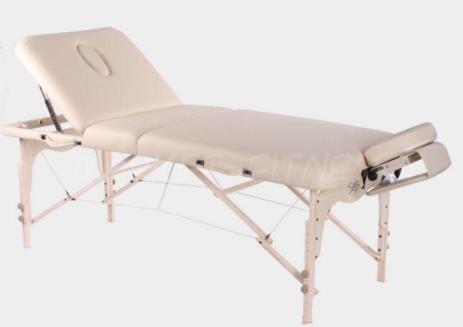 Складной массажный стол Vision Juventas Deluxe. Модификация: Базовая, Цвет: бордо (Складные столы)