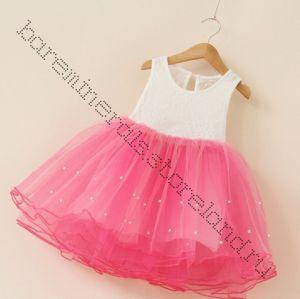 Платье туту розовое 110, 120 см