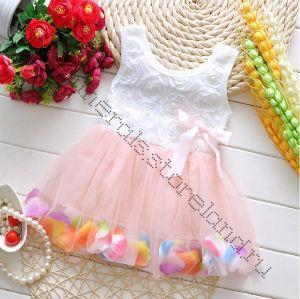 """Платье туту """"Карамелька"""" рост 110 см светло-розовое"""