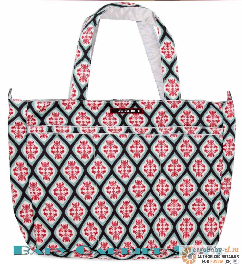 Пляжная сумка для мамы на коляску JU-JU-BE «Mighty Be Dreamy Diamonds» Beyond Collection JuJuBe [ЖуЖуБи Майти Би]