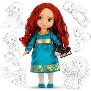 Кукла Мерида с игрушкой в детстве Дисней