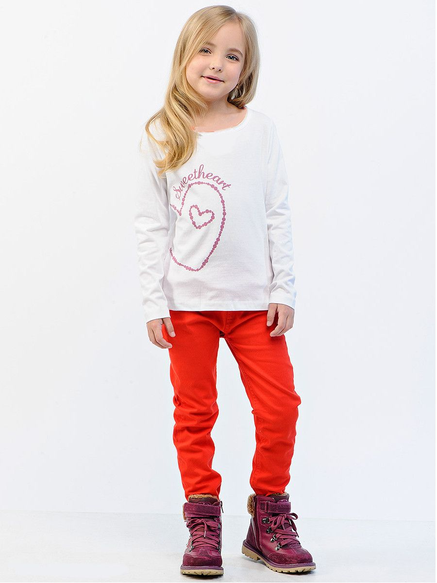 Комплект для девочки Peace Love (Размер: 98-104)