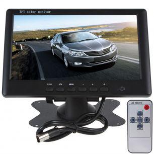 Телевизор монитор 7 дюймов TFT LCD 16:9 экран для авто