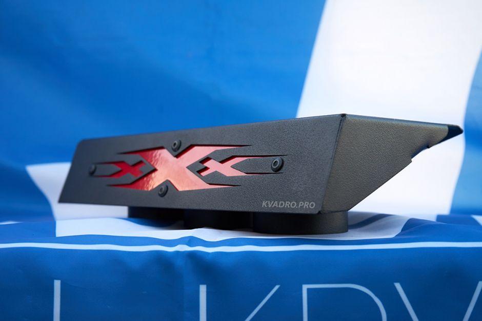 Крышка шноркелей на вынос радиатора для CFMOTO X8