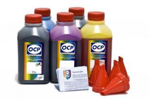 Чернила OCP для принтера и МФУ Canon MG5740, MG6840, TS5040, TS6040 (BKP44, BK153, C153, M153, Y153), картриджи PGI-470, CLI-471, комплект 500 гр. x 5