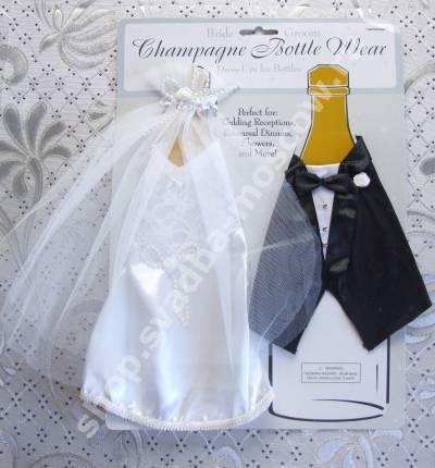 Свадебная свадебные бутылки выкройка